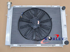 All Aluminum Radiator & Fan For HOLDEN COMMODORE VL RB30 L6 AT/MT
