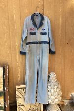 Vintage 1950's Cleveland Work Wear Coveralls International Truck Service M-L