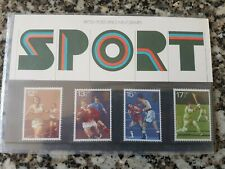 Royal Mail GB 1980 Sport Presentation Pack No. 121