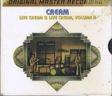 Cream LIVE CREAM MFSL Gold DOCD udcd 2-625 uii
