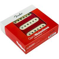 Genuine Fender GEN 4 Noiseless Stratocaster/Strat Guitar Pickup Set - AGED WHITE