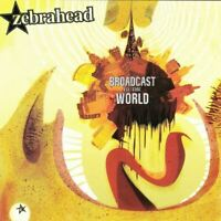 ZEBRAHEAD broadcast to the world (CD, album) very good condition, steamhammer,