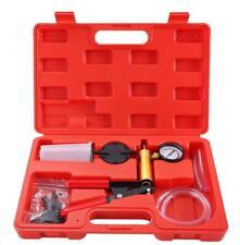 2 In 1 Brake Bleeder & Vacuum Pump Gauge Test Tuner Kit Tools DIY Hand Tools US