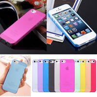 Thin TPU Candy Matte Hard Case Skin Cover Cell Phone For Samsung Iphone Hawei
