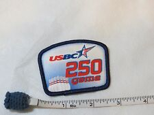 USBC United States Bowling Congress 250 game patch award kids adult pins youth
