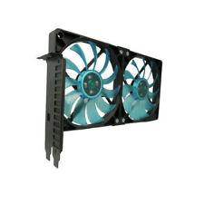 Gelid  Dual Slim 120mm UV Blue PCI Slot Fan  ,  SL-PCI-02