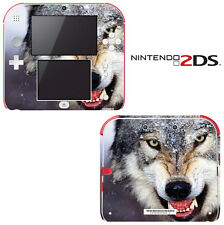 Vinyl Skin Decal Cover for Nintendo 2DS - Wolf