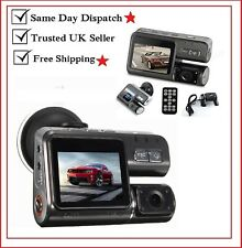 Doble coche cámara True HD 1080P Sensor G Grabadora Cámara H 264 Dash accidente DVR Video