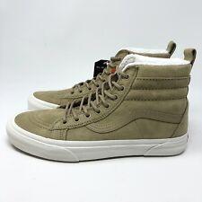 NEW VANS Sk8 Hi Mte Skate Shoes Boots Sz 7.5 Cornstalk Marshmallow Scotch Guard
