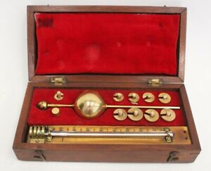 Antique SIKES HYDROMETER Boxed - P14