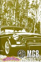 MGB 1970 1971 OWNERS MANUAL MG BOOK DRIVERS HANDBOOK GUIDE GT 70 71 MGBGT