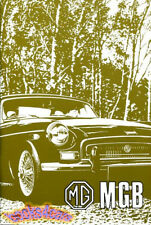MGB OWNERS MANUAL MG BOOK 1970-1971 DRIVERS HANDBOOK GUIDE GT 70 71 MGBGT