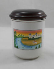 Villeroy & and Boch DESIGN NAIF LAPLAU storage jar Castle 9cm BL004