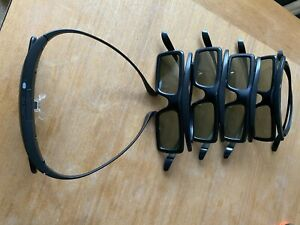 SAMSUNG 3D GLASSES SSG-3050GB X 5