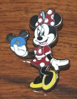 Disney Minnie Mouse Holding Mickey Silver Ears Hat 2009 Official Trading Pin!
