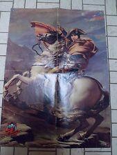 """Poster - SERGE LAMA - TERENCE HILL- Hit Magazine Année """"70"""" - 56 x 40 pliée en 4"""