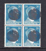 GERMANY 516 BLOCK 4 LOCAL SCHWÄRZUNGEN CHEMNITZ OVERPRINT OG NH U/M VF