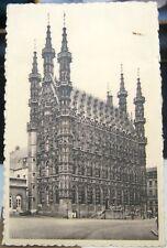 Belgium Louvain Hotel de Ville - posted