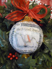 Our Father Gave To Us The 12 Days of Christmas Ornament Kit
