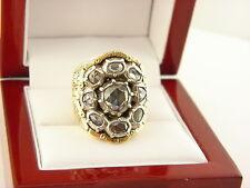 Antique Georgian Rose Cut Diamond Cluster Ring Cr.1820