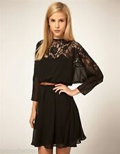 Unbranded Chiffon Casual Solid Dresses for Women