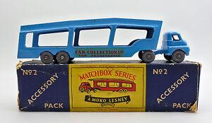 MATCHBOX A2 DIECAST CAR TRANSPORTER (CAR COLLECTION LTD)