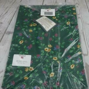 Longaberger Liner Drapery Panel Emerald Vine New Old Stock 9 available