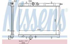 NISSENS Radiateur moteur pour PEUGEOT 206 63697 - Pièces Auto Mister Auto