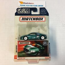 Audi R8 * 2018 Matchbox Globe Travelers w/ Real Riders