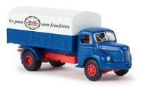 "Berliet GLR 8 camion bâché ""Les Pneus Kléber"" - Brekina - Echelle 1/87 (HO)"