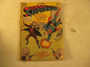 DC  COMIC SUPERMAN NO. 62 JAN FEB 1950