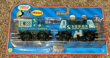 New Thomas and Friends Wooden Railways Sodor Water Works 2004 Blue