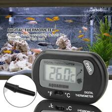 LCD Digital Thermometer Aquarium Fish Tank Water Temperature Meter Suction Cup