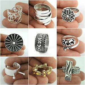 Ring Size 6 Solid 925 Sterling Silver Handmade Indian Jewelry HALLOWEEN GIFT