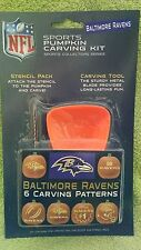 Baltimore Ravens NFL Officially Licensed Pumpkin Carving Kit, Halloween football