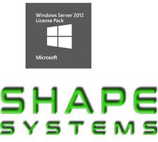 Microsoft Windows Server CAL 2012 20 Device CALs Academic R18-04097 (£250 ExVAT)