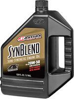 SYN BLEND 20W-50 1GAL Maxima Racing Oils 359128B