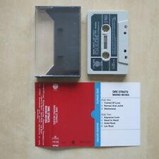 DIRE STRAITS Making Movies Original cassette tape Vertigo 1980 Great condition
