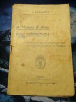 A. ROMANELLI BRESCIA - NOZIONI DI STORIA PATRIA CONTEMPORANEA 1907 -