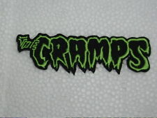 The Cramps Emb Patch Garage Punk Lux Interior Poison Ivy Gothic Psychobilly Goth