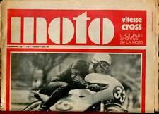 HEBDOMADAIRE MOTO VITESSE CROSS N°7. 1970.