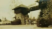 Main Gate, Fort Lewis Washington Postcard - Real Photo RPPC