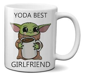Yoda Best Girlfriend Star Wars Funny Coffee Tea Ceramic Mug Cup 330ml