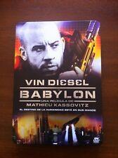 VIN DIESEL. BABYLON - 1 DVD - EDICION ESPECIAL STEELBOOK - 2008 - 101 MIN