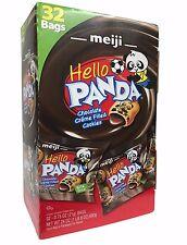 Meiji Hello Panda Chocolate Creme Filled Cookies 32 Bags Net 1.5 LB