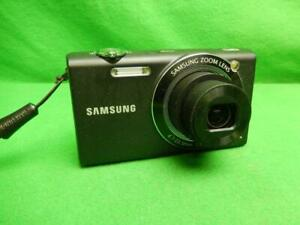 Samsung Digimax SH100 14.0MP Digital Camera - Black w/ Battery & Charger