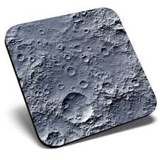 Square Single Coaster - Amazing Moon Crater Surface Space  #8438