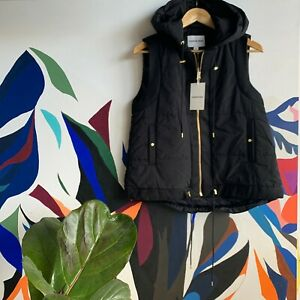 COUNTRY ROAD - SZ XS,S NEW! quilt puffer vest black 8,10,12 [CR LOVE]
