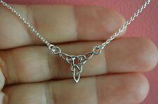 925 Sterling Silver Irish Celtic Knot Necklace - Celtic Knot Necklace Jewelry