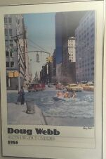 Vintage Doug Webb Realist Poster. Martin Lawrence Galleries Limited Editions
